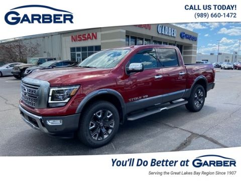 New 2020 Nissan Titan Platinum Reserve With Navigation & 4WD